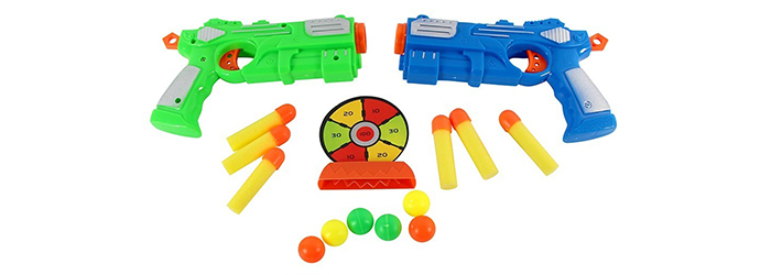 Certificação de Armas de Brinquedo - Yes!