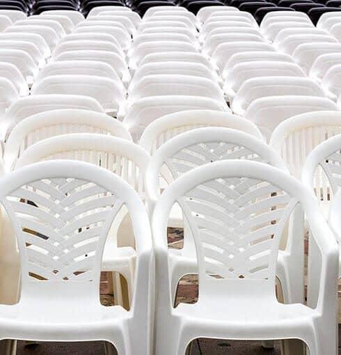 Certificação de Cadeiras Plásticas